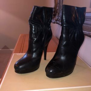 Michael Kors Leather Webster Booties